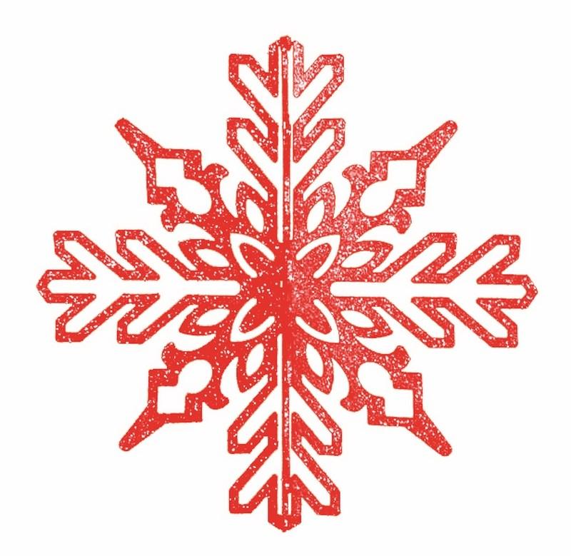 Украшение новогоднее подвесное Neon-Night Снежинка ажурная 3D, цвет: красный, 35 см502-342Елочная фигура Снежинка ажурная 3D, 35 см, цвет красный с блестками