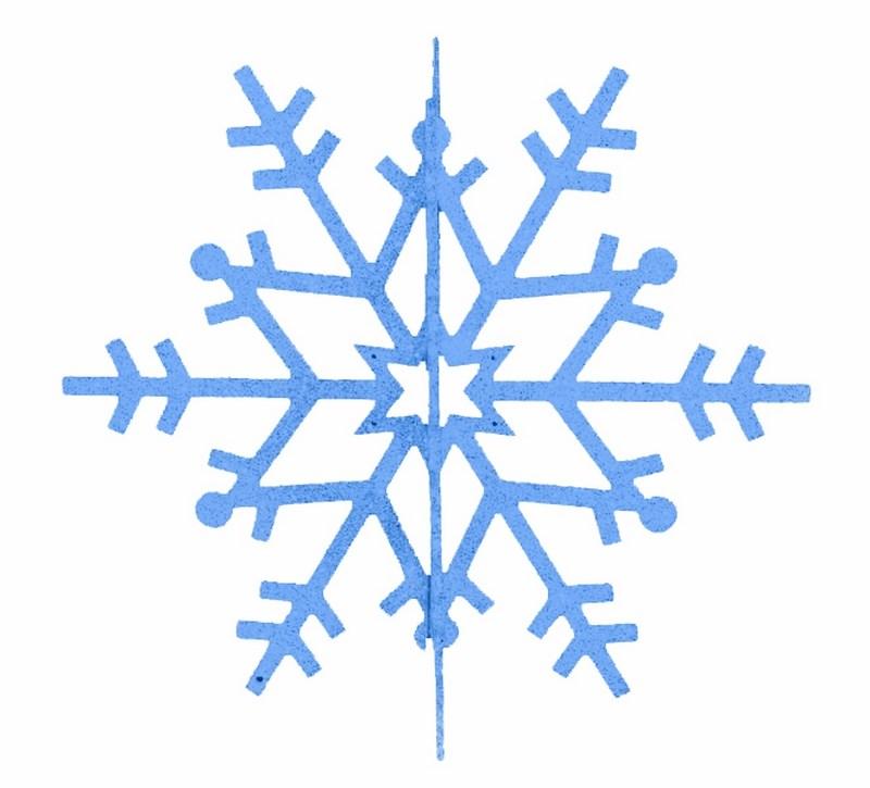 Украшение новогоднее подвесное Neon-Night Снежинка резная 3D, цвет: синий, 31 см502-343Новогоднее подвесное украшение Neon-Night отлично подойдет для декорации вашего дома и новогодней ели. Новогоднее украшение можно повесить в любом понравившемся вам месте. Но, конечно, удачнее всего оно будет смотреться на праздничной елке.Елочная игрушка - символ Нового года. Она несет в себе волшебство и красоту праздника. Такое украшение создаст в вашем доме атмосферу праздника, веселья и радости.