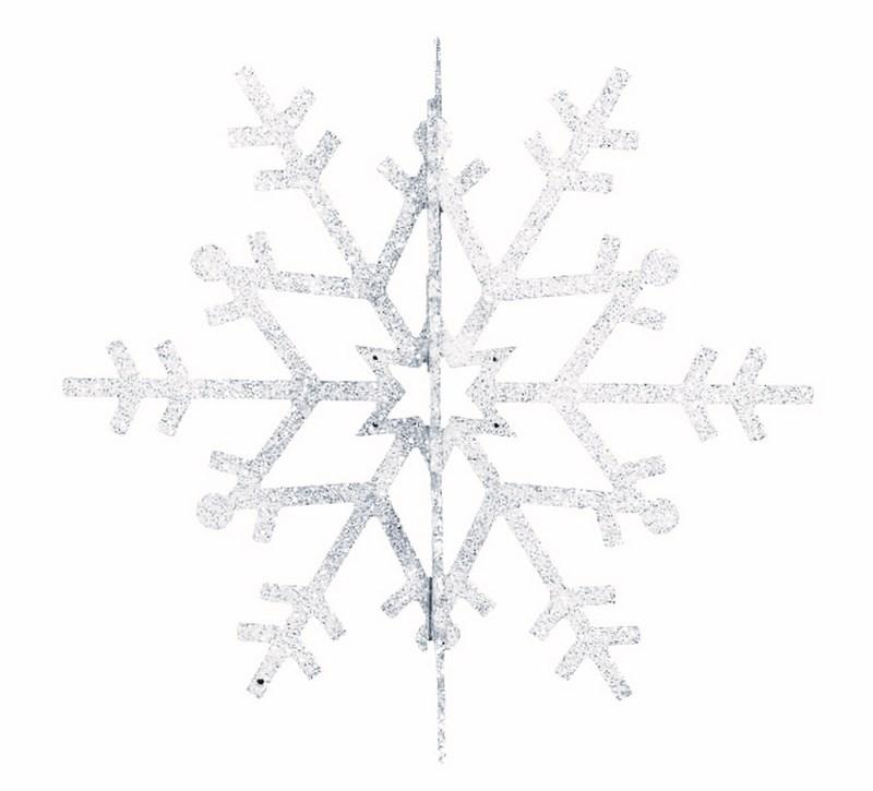 Украшение новогоднее подвесное Neon-Night Снежинка резная 3D, цвет: белый, 31 см502-345Новогоднее подвесное украшение Neon-Night отлично подойдет для декорации вашего дома и новогодней ели. Новогоднее украшение можно повесить в любом понравившемся вам месте. Но, конечно, удачнее всего оно будет смотреться на праздничной елке.Елочная игрушка - символ Нового года. Она несет в себе волшебство и красоту праздника. Такое украшение создаст в вашем доме атмосферу праздника, веселья и радости.