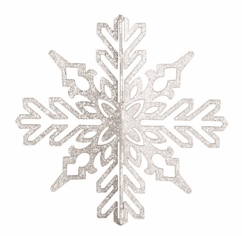 Украшение новогоднее подвесное Neon-Night Снежинка ажурная 3D, цвет: белый, 46 см502-356Новогоднее подвесное украшение Neon-Night отлично подойдет для декорации вашего дома и новогодней ели. Новогоднее украшение можно повесить в любом понравившемся вам месте. Но, конечно, удачнее всего оно будет смотреться на праздничной елке.Елочная игрушка - символ Нового года. Она несет в себе волшебство и красоту праздника. Такое украшение создаст в вашем доме атмосферу праздника, веселья и радости.