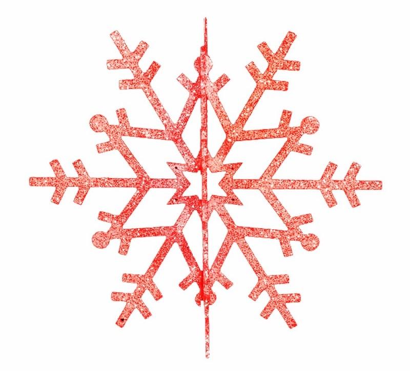Украшение новогоднее подвесное Neon-Night Снежинка резная 3D, цвет: красный, 61 см502-362Новогоднее подвесное украшение Neon-Night отлично подойдет для декорации вашего дома и новогодней ели. Новогоднее украшение можно повесить в любом понравившемся вам месте. Но, конечно, удачнее всего оно будет смотреться на праздничной елке.Елочная игрушка - символ Нового года. Она несет в себе волшебство и красоту праздника. Такое украшение создаст в вашем доме атмосферу праздника, веселья и радости.