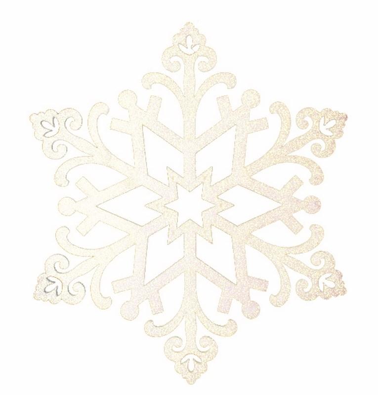 Новогоднее подвесное украшение Neon-Night Снежинка, цвет: шампань новогоднее подвесное украшение собака ф21 1716