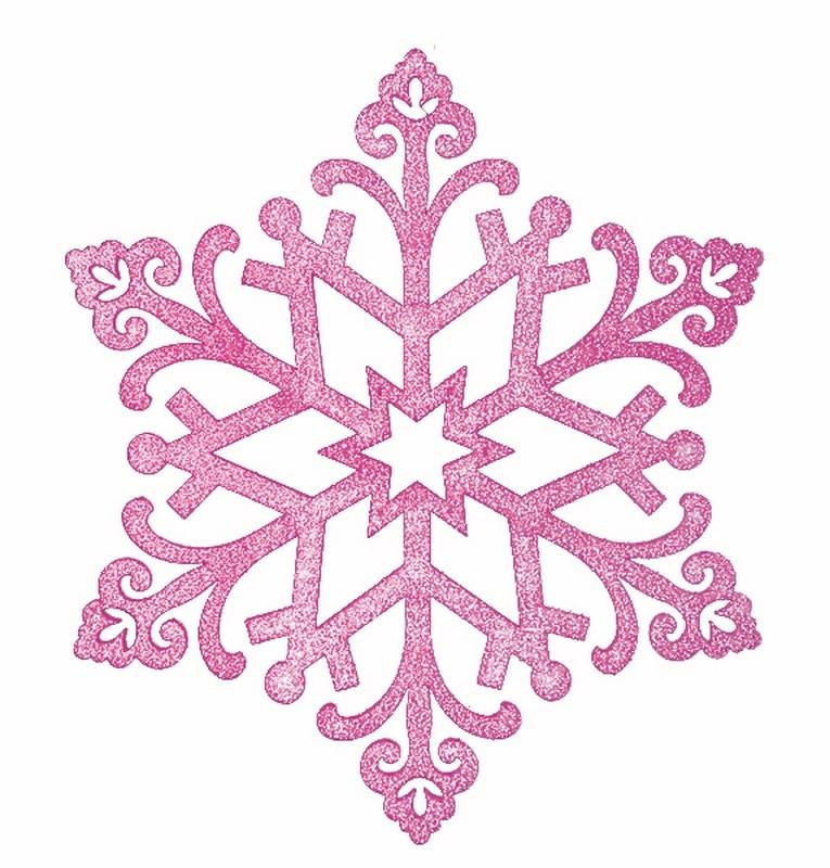 Украшение декоративное Neon-Night Снежинка. Сегурочка, цвет: фиолетовый, 81 см502-377Елочная фигура Снежинка Морозко, 32 см, цвет фиолетовый с блестками