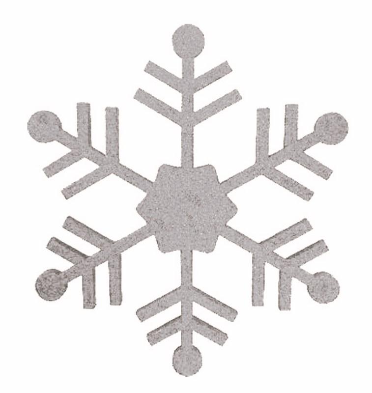 Украшение новогоднее подвесное Neon-Night Снежинка классическая, цвет: серебряный, 66 см502-385Новогоднее подвесное украшение Neon-Night отлично подойдет для декорации вашего дома и новогодней ели. Новогоднее украшение можно повесить в любом понравившемся вам месте. Но, конечно, удачнее всего оно будет смотреться на праздничной елке.Елочная игрушка - символ Нового года. Она несет в себе волшебство и красоту праздника. Такое украшение создаст в вашем доме атмосферу праздника, веселья и радости.