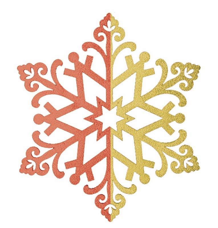 Украшение новогоднее подвесное Neon-Night Снежинка сказочная, цвет: красный, золотой, 40 см502-388Новогоднее подвесное украшение Neon-Night отлично подойдет для декорации вашего дома и новогодней ели. Новогоднее украшение можно повесить в любом понравившемся вам месте. Но, конечно, удачнее всего оно будет смотреться на праздничной елке.Елочная игрушка - символ Нового года. Она несет в себе волшебство и красоту праздника. Такое украшение создаст в вашем доме атмосферу праздника, веселья и радости.