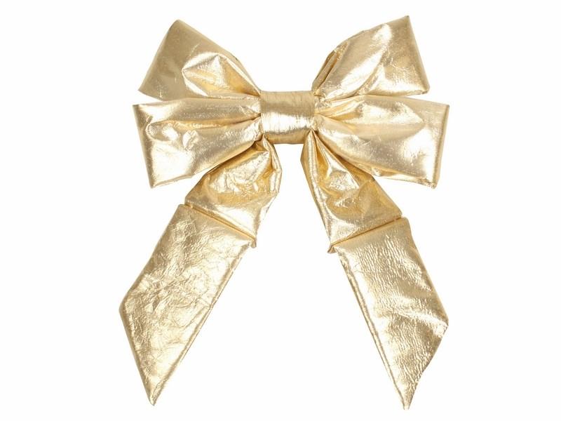 Украшение новогоднее подвесное Neon-Night Бантик, цвет: золотой, 31 см502-501Новогоднее подвесное украшение Neon-Night отлично подойдет для декорации вашего дома и новогодней ели. Новогоднее украшение можно повесить в любом понравившемся вам месте. Но, конечно, удачнее всего оно будет смотреться на праздничной елке.Елочная игрушка - символ Нового года. Она несет в себе волшебство и красоту праздника. Такое украшение создаст в вашем доме атмосферу праздника, веселья и радости.