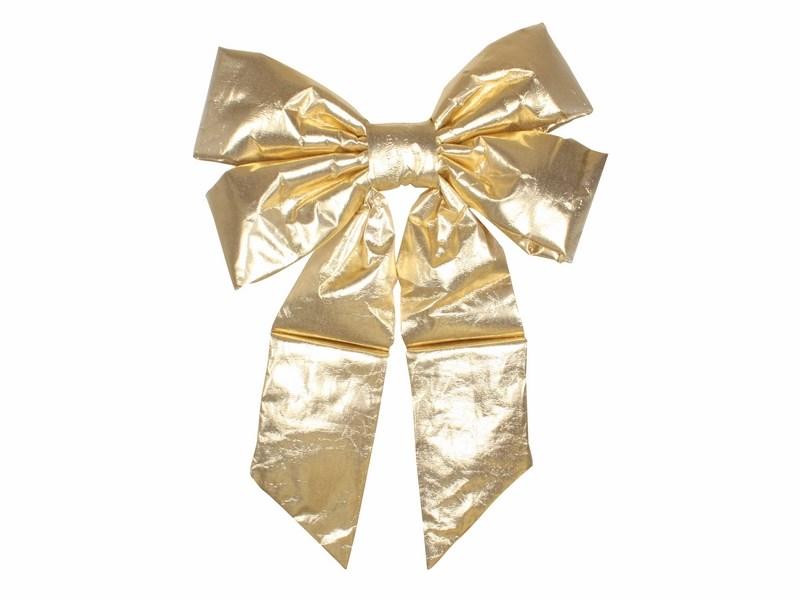 Украшение новогоднее подвесное Neon-Night Бантик, цвет: золотой, 61 см502-521Новогоднее подвесное украшение Neon-Night отлично подойдет для декорации вашего дома и новогодней ели. Новогоднее украшение можно повесить в любом понравившемся вам месте. Но, конечно, удачнее всего оно будет смотреться на праздничной елке.Елочная игрушка - символ Нового года. Она несет в себе волшебство и красоту праздника. Такое украшение создаст в вашем доме атмосферу праздника, веселья и радости.