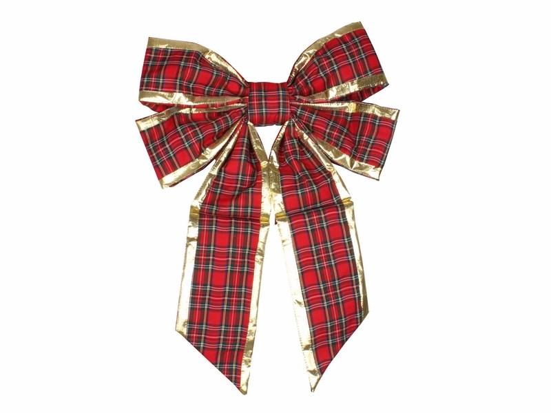 Украшение новогоднее подвесное Neon-Night Бантик, цвет: красный, золотой, 61 см502-522Новогоднее подвесное украшение Neon-Night отлично подойдет для декорации вашего дома и новогодней ели. Новогоднее украшение можно повесить в любом понравившемся вам месте. Но, конечно, удачнее всего оно будет смотреться на праздничной елке.Елочная игрушка - символ Нового года. Она несет в себе волшебство и красоту праздника. Такое украшение создаст в вашем доме атмосферу праздника, веселья и радости.