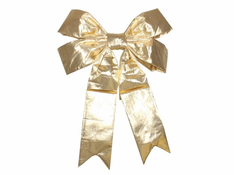 Украшение новогоднее подвесное Neon-Night Бантик, цвет: золотой, 91 см502-531Новогоднее подвесное украшение Neon-Night отлично подойдет для декорации вашего дома и новогодней ели. Новогоднее украшение можно повесить в любом понравившемся вам месте. Но, конечно, удачнее всего оно будет смотреться на праздничной елке.Елочная игрушка - символ Нового года. Она несет в себе волшебство и красоту праздника. Такое украшение создаст в вашем доме атмосферу праздника, веселья и радости.