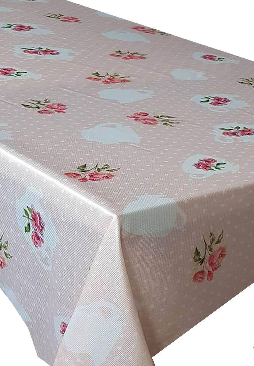 Скатерть Ambesonne Нежные розы, прямоугольная, 150 x 220 см