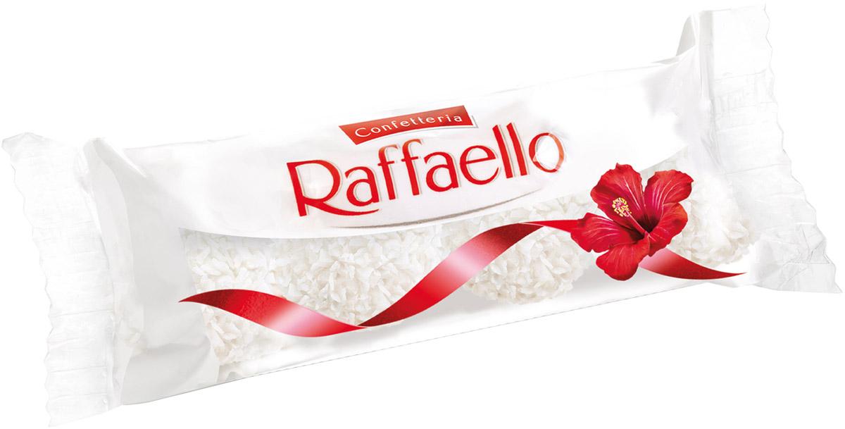 Raffaello конфеты с цельным миндальным орехом в кокосовой обсыпке, 40 г