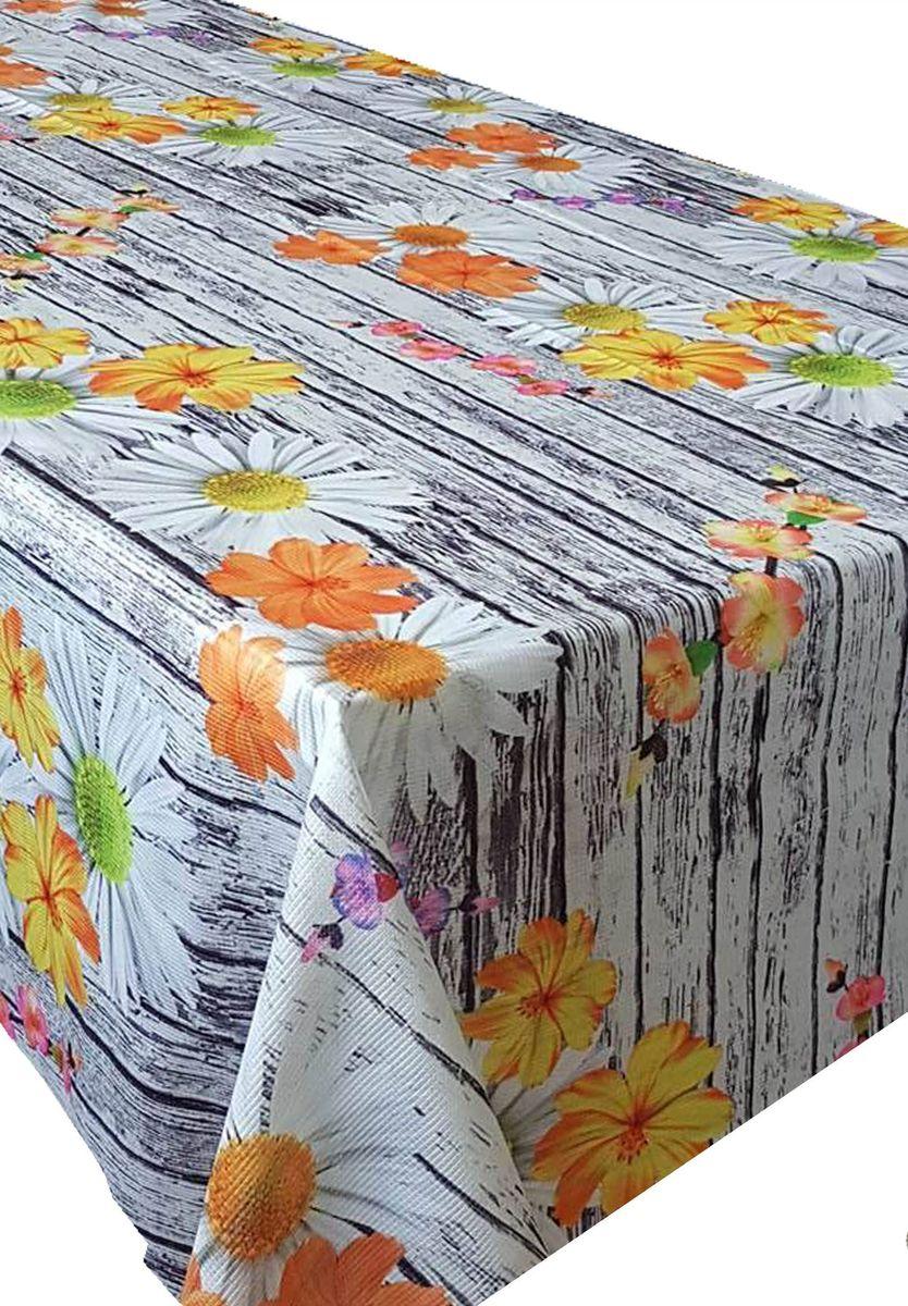 Скатерть Ambesonne Цветы на деревянном столе, квадратная, 150 x 150 смBM1526DAISYTAS_AКрасочная фотоскатерть Ambesonne Цветы на деревянном столе выполнена из тканевого полиэстера и украшена оригинальным рисунком. Изделие создаст атмосферу уюта и домашнего тепла в интерьере вашей кухни.В современном мире кухня - это не просто помещение для приготовления и приема пищи. Это особое место, где собирается вся семья и царит душевная атмосфера.