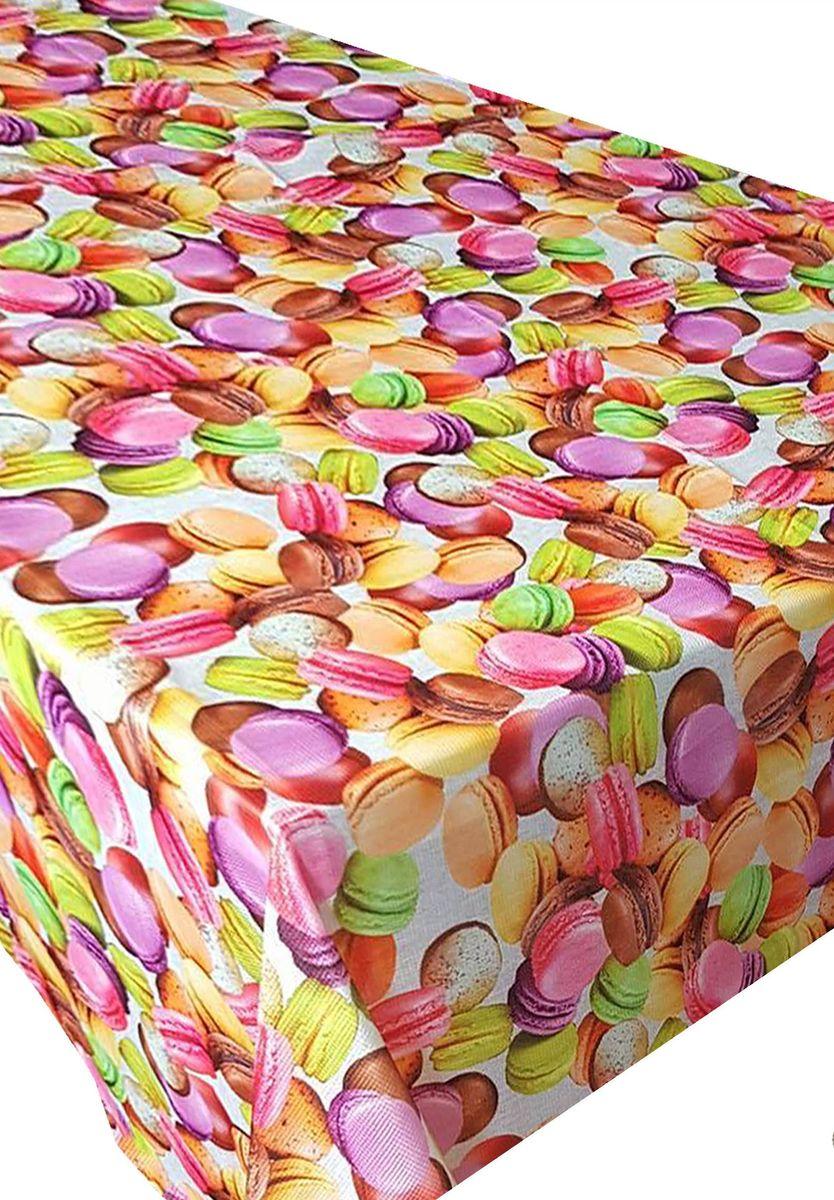 Скатерть Ambesonne Французские пирожные, квадратная, 150 x 150 смBD1546SUGAR_AВеликолепная скатерть Ambesonne, выполненная из полиэстера, создаст атмосферу уюта и домашнего тепла в интерьере вашей кухни.В современном мире кухня - это не просто помещение для приготовления и приема пищи. Это особое место, где собирается вся семья и царит душевная атмосфера.
