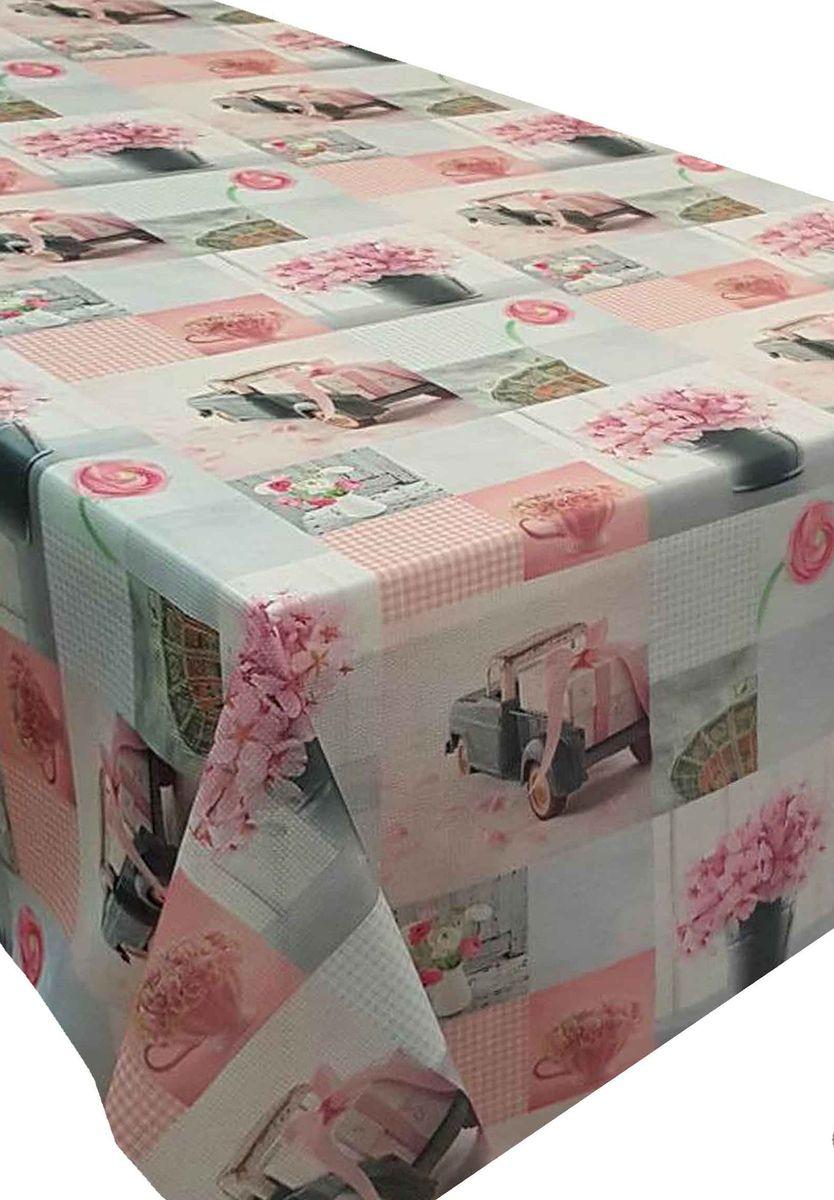 Скатерть Ambesonne Игрушечные машинки и розовые цветы, квадратная, 150 x 150 смBD1363_AВеликолепная скатерть Ambesonne, выполненная из полиэстера, создастатмосферу уюта и домашнего тепла в интерьере вашей кухни. В современном мире кухня - это не просто помещение для приготовления иприема пищи. Это особое место, где собирается вся семья и царит душевнаяатмосфера.