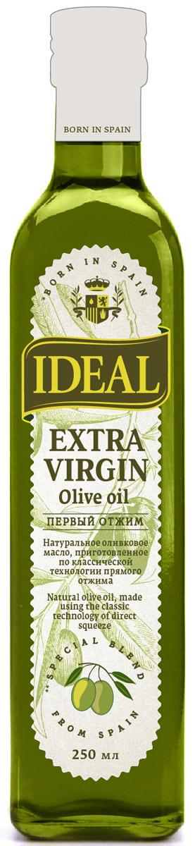 Ideal Extra Virgin масло оливковое, 0,25 л8424536921288IDEAL Extra Virgin - это масло высшей категории качества, полученное их отборных оливок исключительно путем механического прессования. Любое ваше блюдо станет богаче благодаря ценным свойствам, а также свежему аромату и гармоничному вкусу этого натурального оливкового масла. Оливковое масло Ideal идеально подходит для всех видов домашней кулинарии - салатов, маринадов, жарки, выпечки, фритюра и прочих блюд.