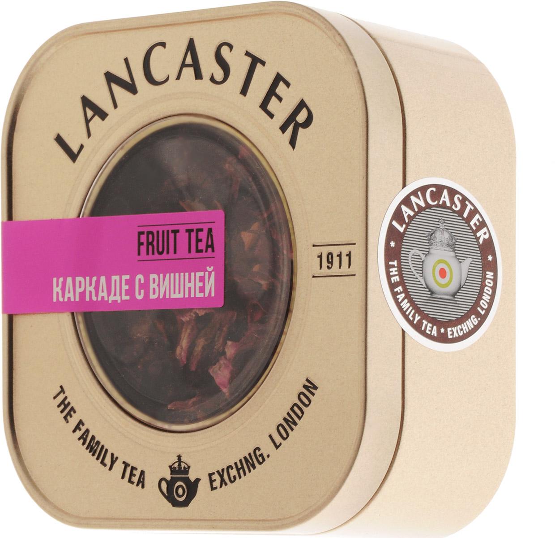 Lancaster Каркаде с вишней чайный напиток, 75 г13 9936Тонизирующий купаж Lancaster Каркаде с вишней на основе цветов гибискуса с добавлением кусочков яблок, вишни, шиповника и лепестков роз делает вкус чая каркаде еще более насыщенным, а аромат после заваривания поистине чудесным.Уважаемые клиенты! Обращаем ваше внимание на то, что упаковка может иметь несколько видов дизайна. Поставка осуществляется в зависимости от наличия на складе.