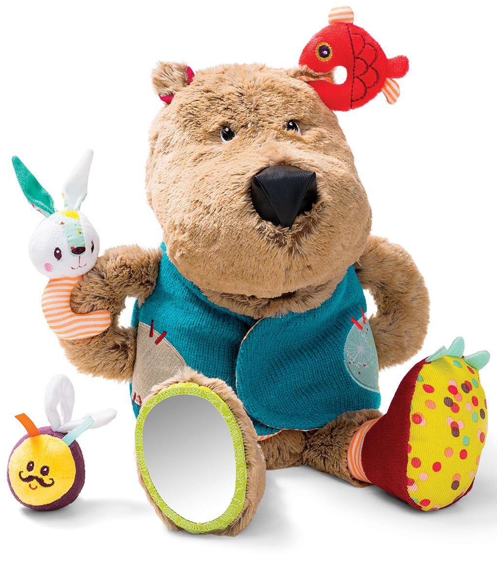 Lilliputiens Развивающая игрушка Медвежонок Цезарь lilliputiens интерактивная развивающая книжка игрушка курочка офелия