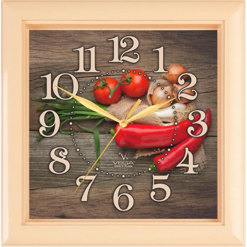 Часы настенные Вега ПерчикП3-14-133Оригинальные настенные часы квадратной формы Вега Перчик выполнены из пластика. Часы имеют три стрелки - часовую, минутную и секундную. Необычное дизайнерское решение и качество исполнения придутся по вкусу каждому. Оформите свой дом таким интерьерным аксессуаром или преподнесите его в качестве презента друзьям, и они оценят ваш оригинальный вкус и неординарность подарка.Часы работают от 1 батарейки типа АА напряжением 1,5 В (в комплект не входит).