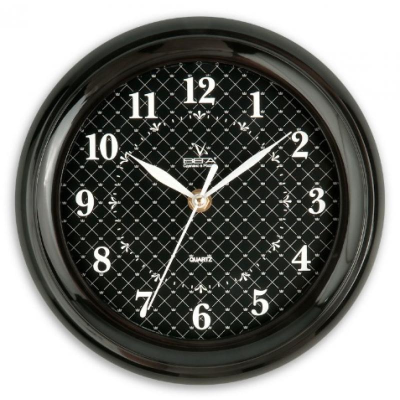 Часы настенные Вега Классика. Черная клеткаП6-6-93Оригинальные настенные часы круглой формы Вега Классика. Черная клетка выполнены из пластика. Часы имеют три стрелки - часовую, минутную и секундную. Необычное дизайнерское решение и качество исполнения придутся по вкусу каждому. Оформите свой дом таким интерьерным аксессуаром или преподнесите его в качестве презента друзьям, и они оценят ваш оригинальный вкус и неординарность подарка. Часы работают от 1 батарейки типа АА напряжением 1,5 В (в комплект не входит).