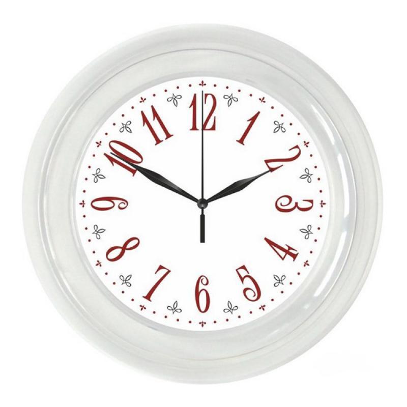 Часы настенные Вега Классика, цвет: белый. П6-7-21П6-7-21Оригинальные настенные часы круглой формы Вега Классика выполнены из пластика. Часы имеют три стрелки - часовую, минутную и секундную. Необычное дизайнерское решение и качество исполнения придутся по вкусу каждому. Оформите свой дом таким интерьерным аксессуаром или преподнесите его в качестве презента друзьям, и они оценят ваш оригинальный вкус и неординарность подарка. Часы работают от 1 батарейки типа АА напряжением 1,5 В (в комплект не входит).