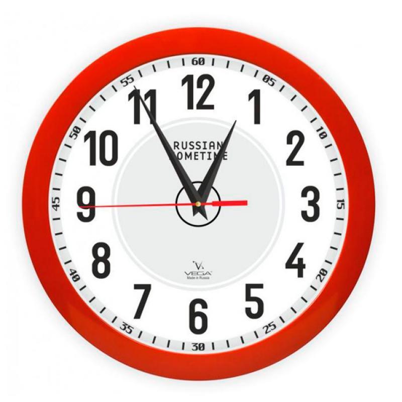 Часы настенные Вега Классика. П1-1/7-273П1-1/7-273Оригинальные настенные часы круглой формы Вега Классика выполнены из пластика. Часы имеют три стрелки - часовую, минутную и секундную. Необычное дизайнерское решение и качество исполнения придутся по вкусу каждому. Оформите свой дом таким интерьерным аксессуаром или преподнесите его в качестве презента друзьям, и они оценят ваш оригинальный вкус и неординарность подарка.Часы работают от 1 батарейки типа АА напряжением 1,5 В (в комплект не входит).