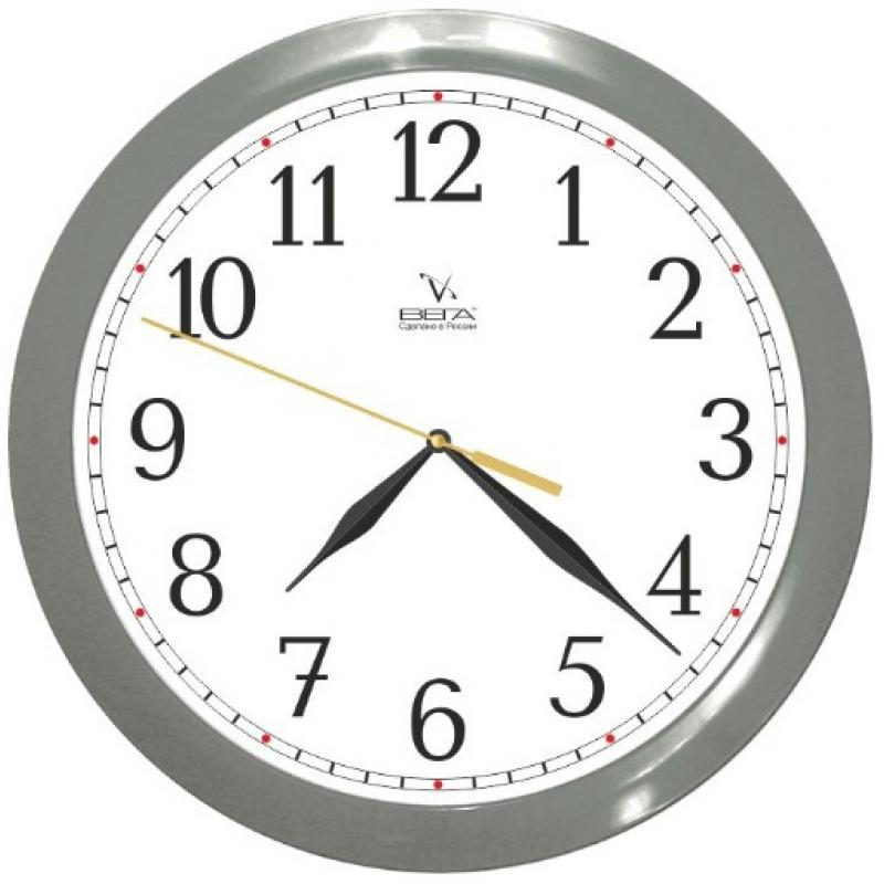 Часы настенные Вега Классика в серомП1-5/7-98Оригинальные настенные часы круглой формы Вега Классика в сером выполнены из пластика. Часы имеют три стрелки - часовую, минутную и секундную. Необычное дизайнерское решение и качество исполнения придутся по вкусу каждому. Оформите свой дом таким интерьерным аксессуаром или преподнесите его в качестве презента друзьям, и они оценят ваш оригинальный вкус и неординарность подарка. Часы работают от 1 батарейки типа АА напряжением 1,5 В (в комплект не входит).