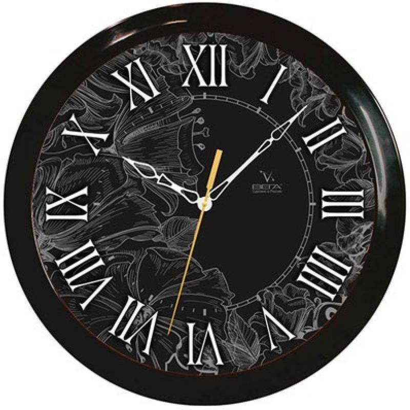 Часы настенные Вега Классика. Римские цифрыП1-6/6-210Оригинальные настенные часы круглой формы Вега Классика. Римские цифры выполнены из пластика. Часы имеют три стрелки - часовую, минутную и секундную. Необычное дизайнерское решение и качество исполнения придутся по вкусу каждому. Оформите свой дом таким интерьерным аксессуаром или преподнесите его в качестве презента друзьям, и они оценят ваш оригинальный вкус и неординарность подарка.Часы работают от 1 батарейки типа АА напряжением 1,5 В (в комплект не входит).