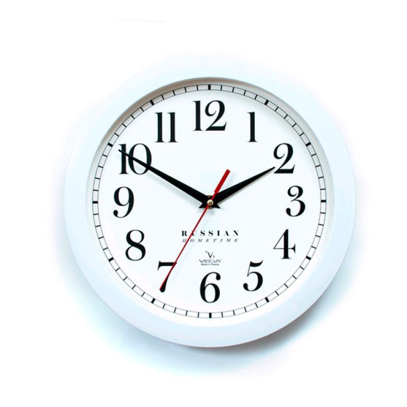 Часы настенные Вега КлассикаП1-7/7-271Оригинальные настенные часы круглой формы Вега Классика выполнены из пластика. Часы имеют три стрелки - часовую, минутную и секундную. Необычное дизайнерское решение и качество исполнения придутся по вкусу каждому. Оформите свой дом таким интерьерным аксессуаром или преподнесите его в качестве презента друзьям, и они оценят ваш оригинальный вкус и неординарность подарка. Часы работают от 1 батарейки типа АА напряжением 1,5 В (в комплект не входит).