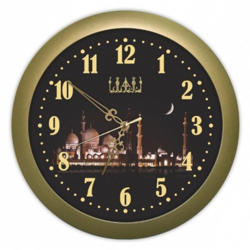 Часы настенные Вега Ночная мечетьП1-8/6-208Оригинальные настенные часы круглой формы Вега Ночная мечеть выполнены из пластика. Часы имеют три стрелки - часовую, минутную и секундную. Необычное дизайнерское решение и качество исполнения придутся по вкусу каждому. Оформите свой дом таким интерьерным аксессуаром или преподнесите его в качестве презента друзьям, и они оценят ваш оригинальный вкус и неординарность подарка.Часы работают от 1 батарейки типа АА напряжением 1,5 В (в комплект не входит).