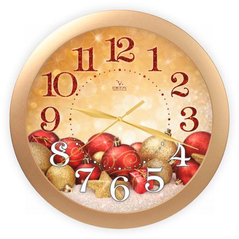 Часы настенные Вега Красные шарыП1-8/7-307Оригинальные настенные часы круглой формы Вега Красные шары выполнены из пластика. Часы имеют три стрелки - часовую, минутную и секундную. Необычное дизайнерское решение и качество исполнения придутся по вкусу каждому.Оформите свой дом таким интерьерным аксессуаром или преподнесите его в качестве презента друзьям, и они оценят ваш оригинальный вкус и неординарность подарка.Часы работают от 1 батарейки типа АА напряжением 1,5 В(батарейка в комплект не входит).
