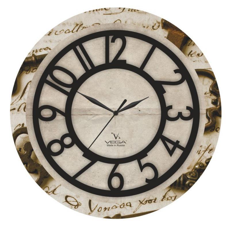 Часы настенные Вега ПисьмоП1-242/6-242Оригинальные настенные часы круглой формы Вега Письмо выполнены из пластика. Часы имеют три стрелки - часовую, минутную и секундную. Необычное дизайнерское решение и качество исполнения придутся по вкусу каждому. Оформите свой дом таким интерьерным аксессуаром или преподнесите его в качестве презента друзьям, и они оценят ваш оригинальный вкус и неординарность подарка. Часы работают от 1 батарейки типа АА напряжением 1,5 В (в комплект не входит).