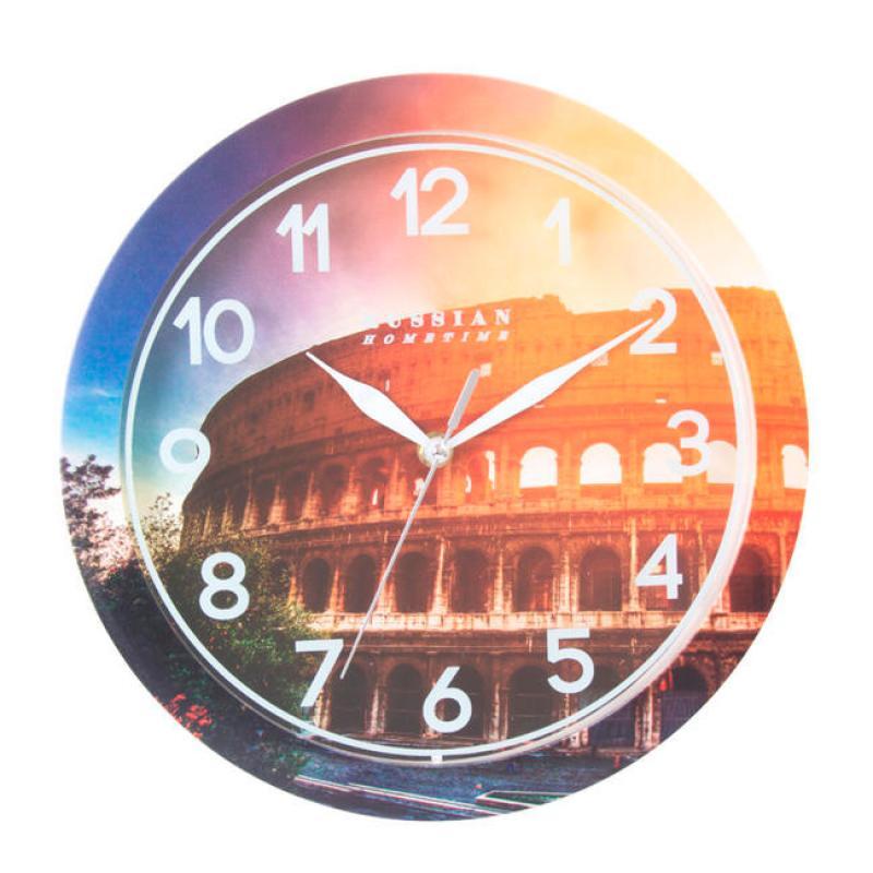 Часы настенные Вега КолизейП1-268/7-268Оригинальные настенные часы круглой формы Вега Колизей выполнены из пластика. Часы имеют три стрелки - часовую, минутную и секундную. Необычное дизайнерское решение и качество исполнения придутся по вкусу каждому. Оформите свой дом таким интерьерным аксессуаром или преподнесите его в качестве презента друзьям, и они оценят ваш оригинальный вкус и неординарность подарка. Часы работают от 1 батарейки типа АА напряжением 1,5 В (в комплект не входит).
