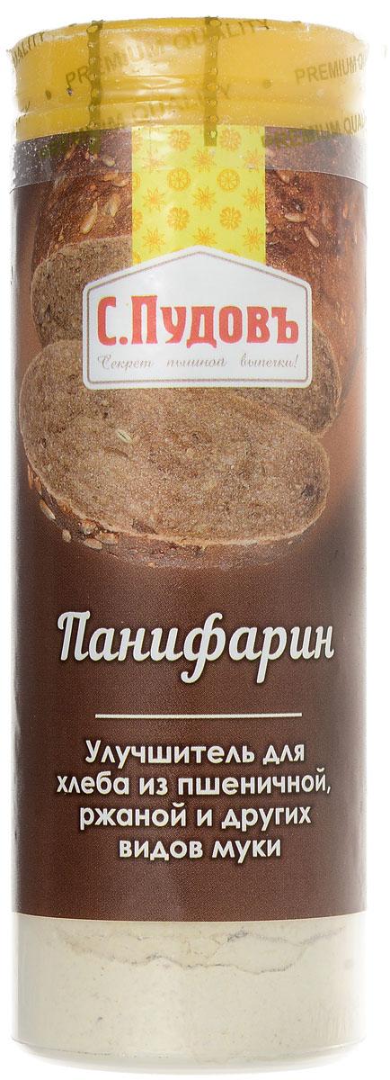 Пудовъ улучшитель хлебопекарный Панифарин, 55 г пудовъ мука ржаная обдирная 1 кг