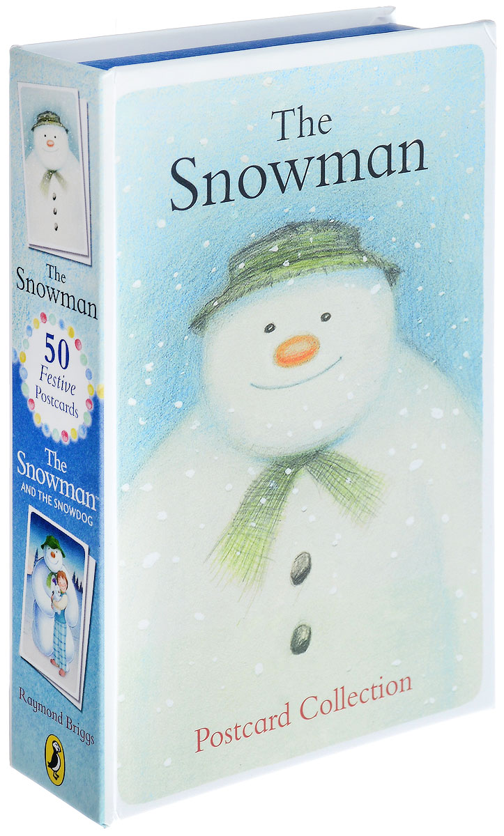 Postcards From The Snowman and The Snowdog the snowman