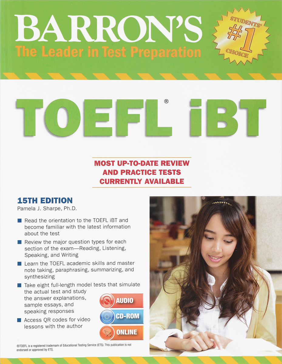 TOEFL iBT (+ 3 CD) barron s toefl ibt 2 cd rom