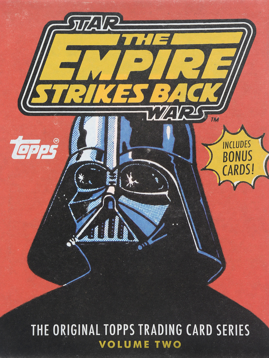 Star Wars: The Empire Strikes Back: The Original Topps Trading Card Series: Volume 2 a dream of red mansions series poker card