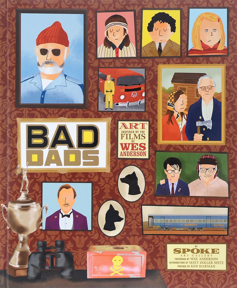Bad Dads: Art Inspired by the Films of Wes Anderson jon anderson jon anderson in the city of angels