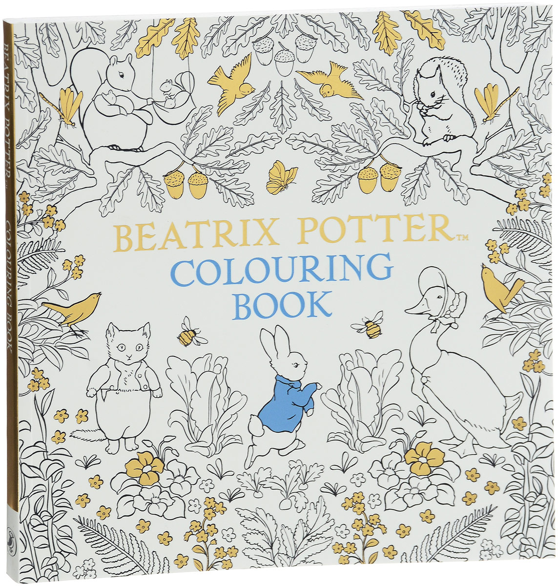 The Beatrix Potter Colouring Boo beatrix potter вишня леденцы 200 г