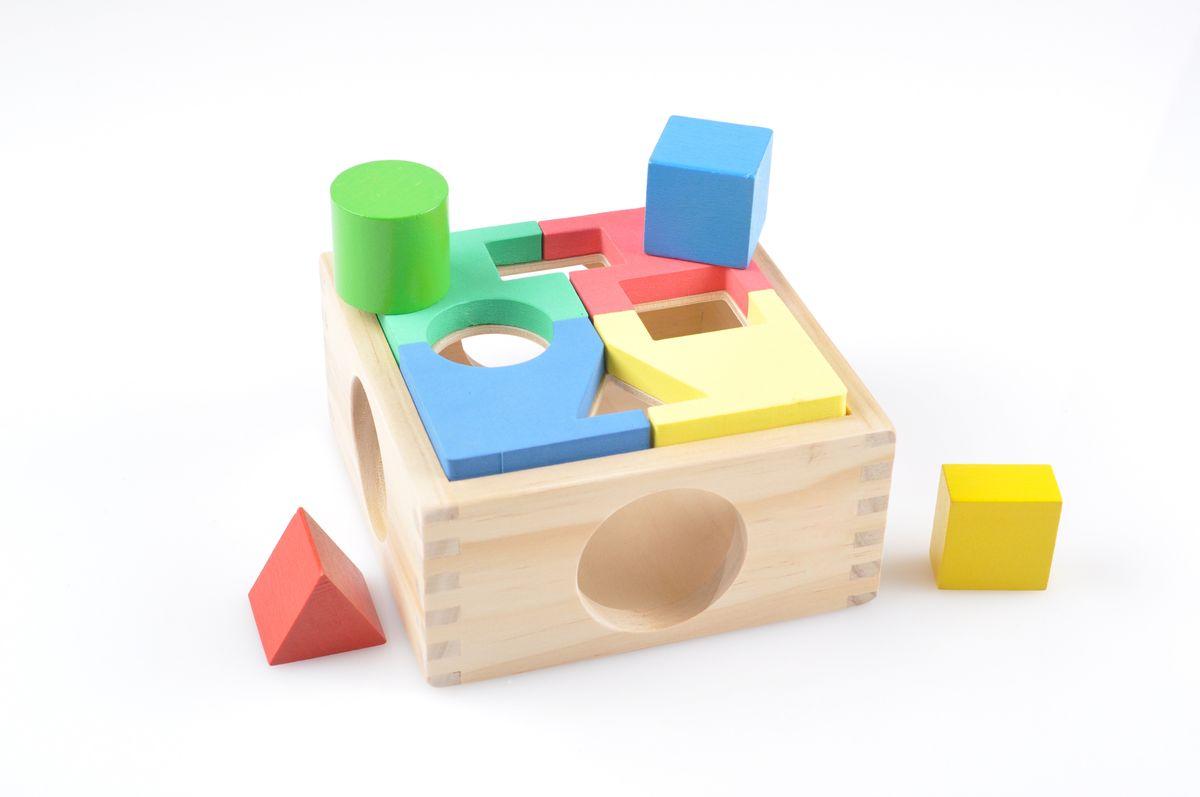 Игрушки из дерева Сортер Занимательная коробка конструкторы игрушки из дерева трамвай