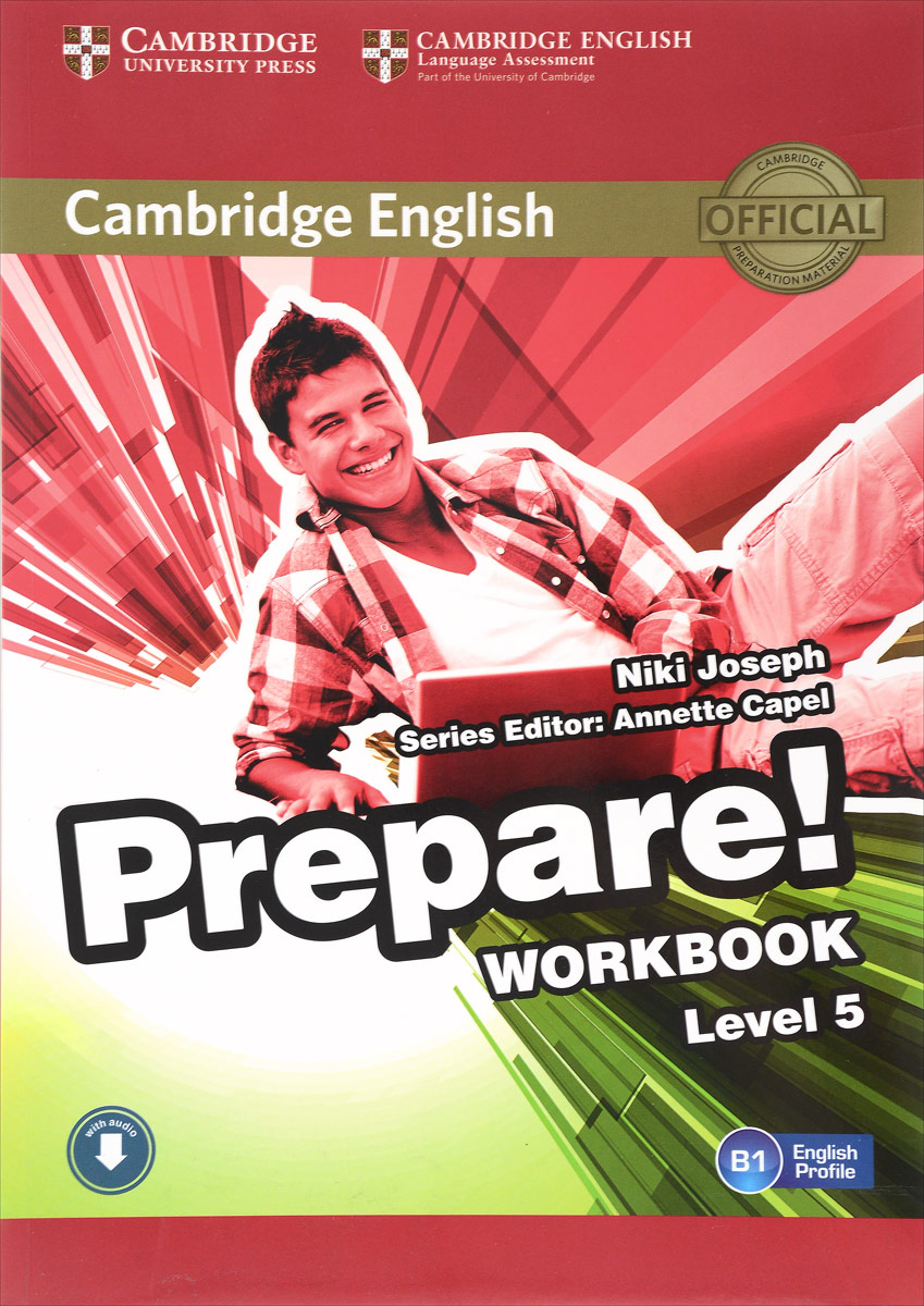 Cambridge English Prepare! Level 5: Workbook leef bridge lfbri 032gkr 32gb usb microusb black