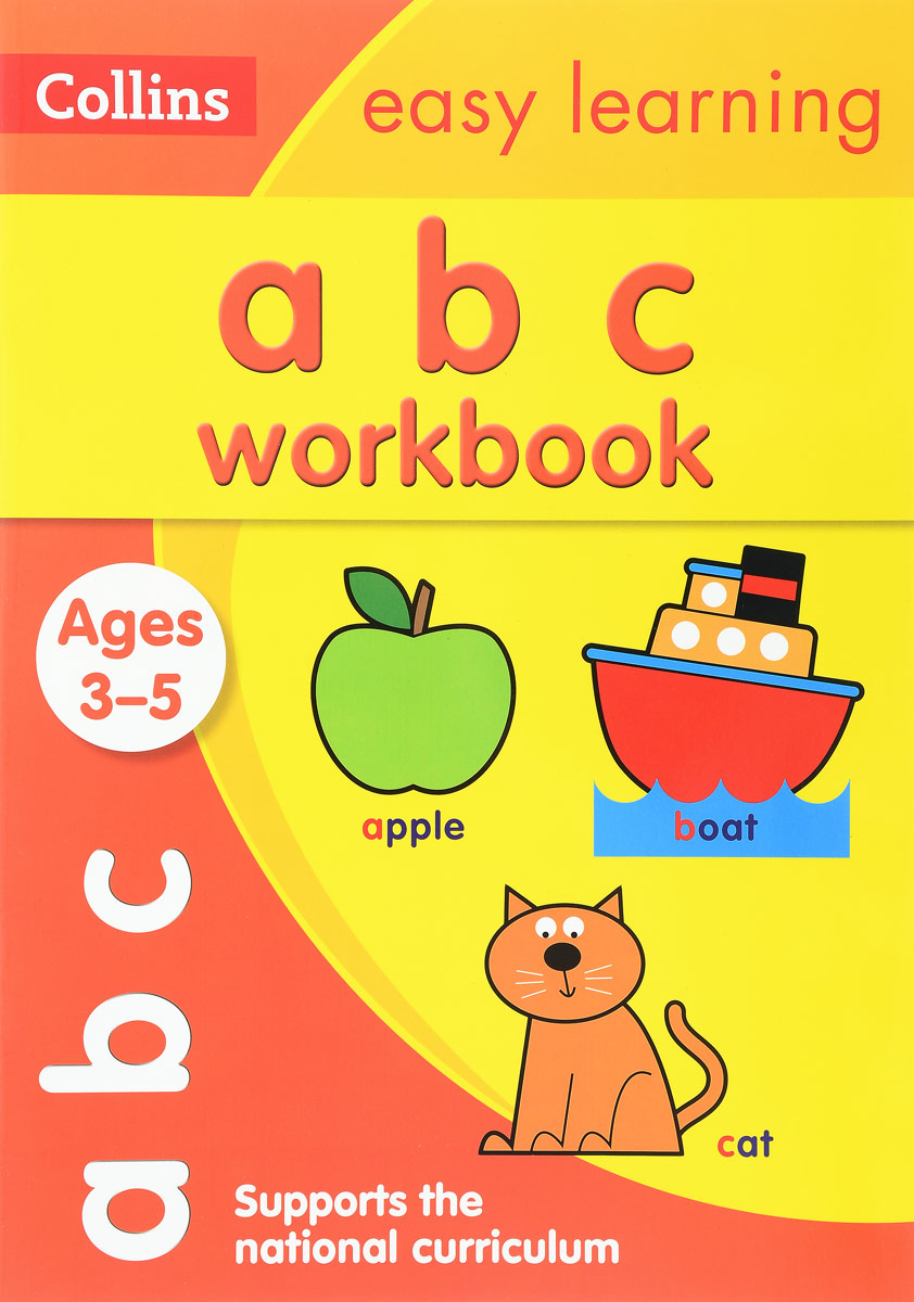 ABC Workbook: Ages 3-5 objective pet workbook with answers