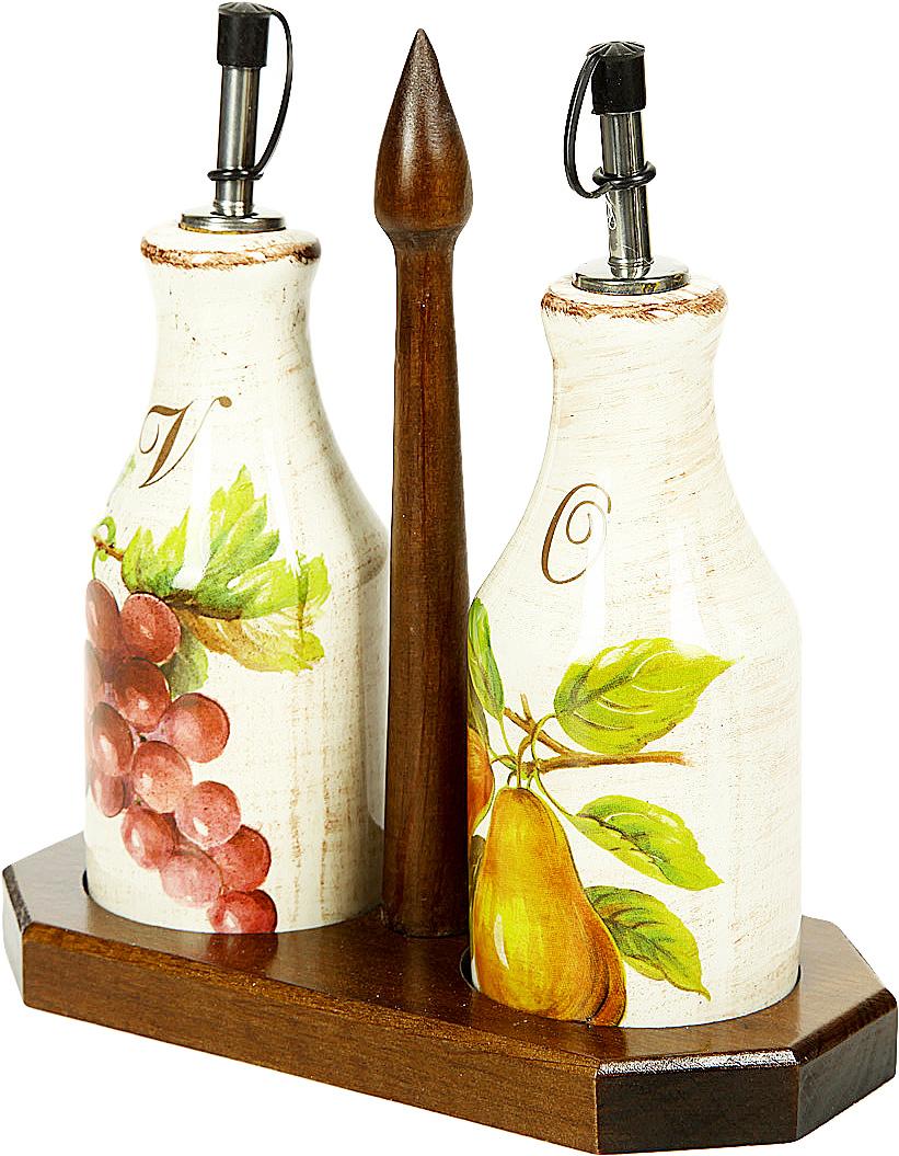 Набор для масла и уксуса Sestesi, на подставке, 3 предметаFRTT/872/LСоздание компании, претендующей на мировую популярность, требует наличия определенной изюминки. Фирма Lavorazione Ceramiche Sestesi (LCS) – популярный производитель, известный своими первоклассными изделиями из керамики. Дизайнеры компании разрабатывают разнообразные декоры в современном и классическом стилях, ориентируясь на новомодные тенденции.Изделия снабжены подарочными упаковками, поэтому могут быть преподнесены в качестве подарка к любому торжеству. Собрав набор из различных предметов, вы сможете организовать прекрасный и, что особенно важно, функциональный презент молодоженам, новоселам или просто сделать приятный сюрприз для близкого человека.Прекрасные декоры, ручная роспись, превосходное качество и регулярное обновление коллекций позволило итальянской компании Lavorazione Ceramiche Sestesi достаточно быстро выйти на мировой уровень. Сегодня ее изделия известны далеко за рубежом. Роскошная керамика LCS по вкусу ценителям изысканной посуды, выполненной в флорентийском стиле. бутылочки 60 х 60 х 205; подставка 195 х 95 х 200