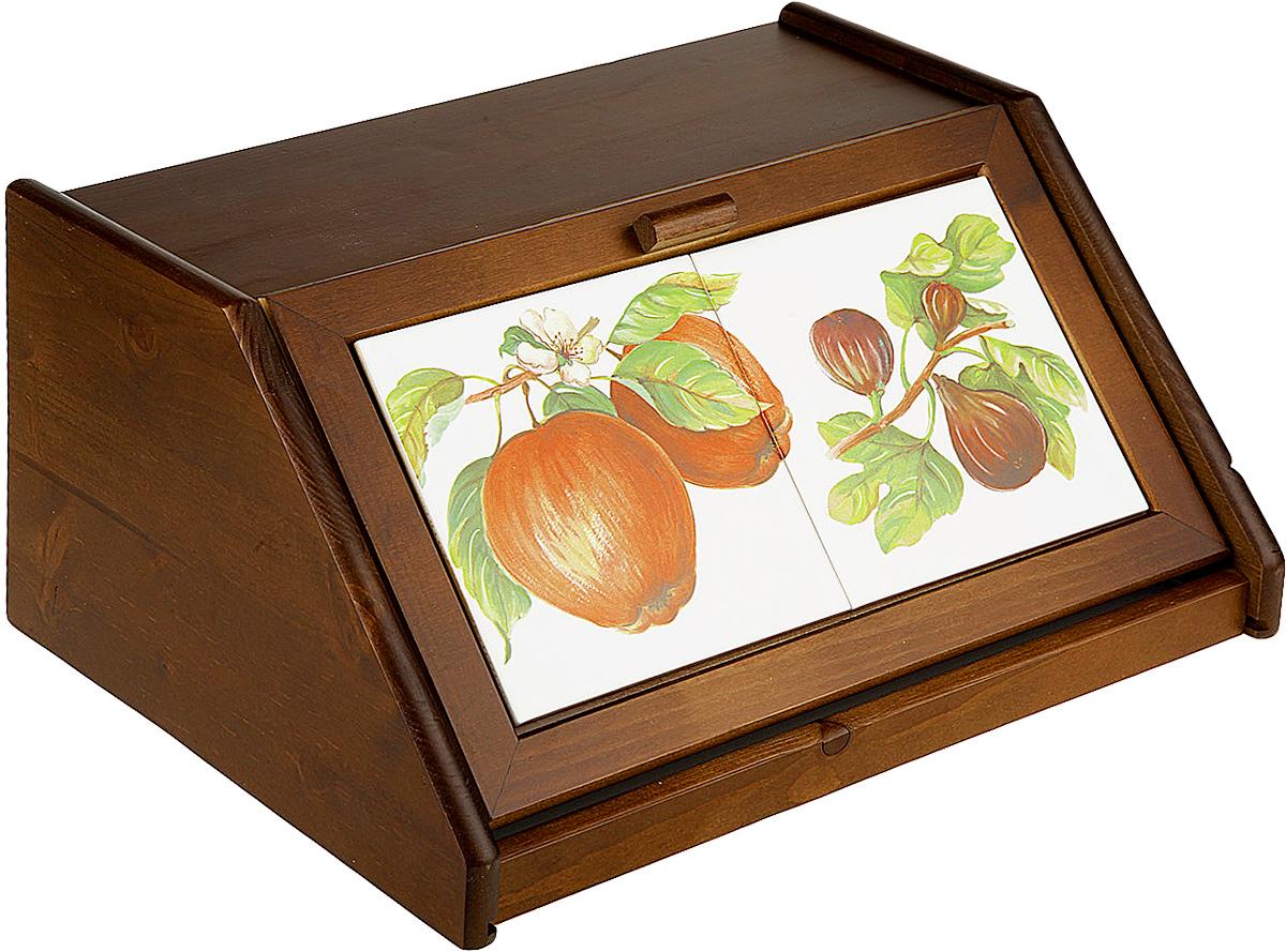 Хлебница LCS Яблоки, 38,5 х 30 х 18 смFRTT/994Хлебница LCS Яблоки изготовлена из дерева и оформленакрасочным изображением. Изделие оснащено удобной, плотнозакрывающейся крышкой.Вместительность, функциональность и стильный дизайнпозволят хлебнице стать не только незаменимым аксессуаромна кухне, но и предметом украшения интерьера. В ней хлебвсегда останется свежим и вкусным.