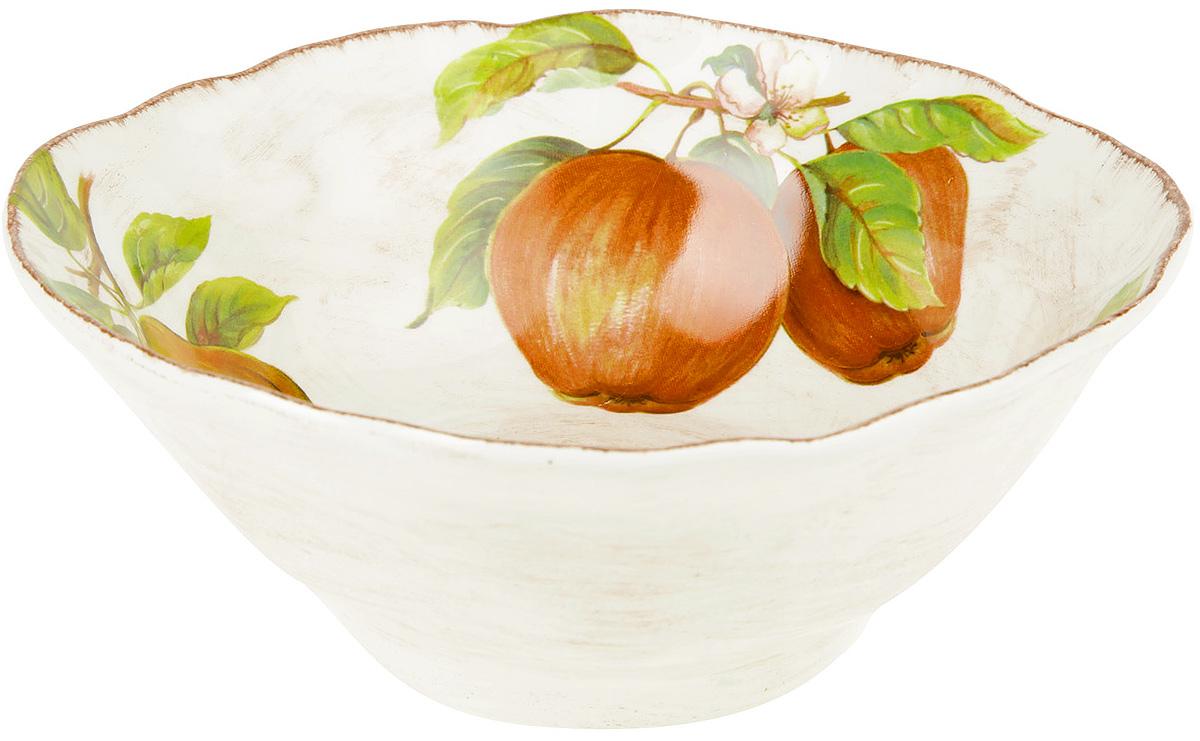 Тарелка суповая LCS Фрукты, диаметр 19 смFRTT/1021Суповая тарелка LCS Фрукты выполнена из глазурованной керамики и оформлена красочным изображением. Такая тарелка отлично подойдет для сервировки стола.Можно использовать в микроволновой печи и мыть в посудомоечной машине.