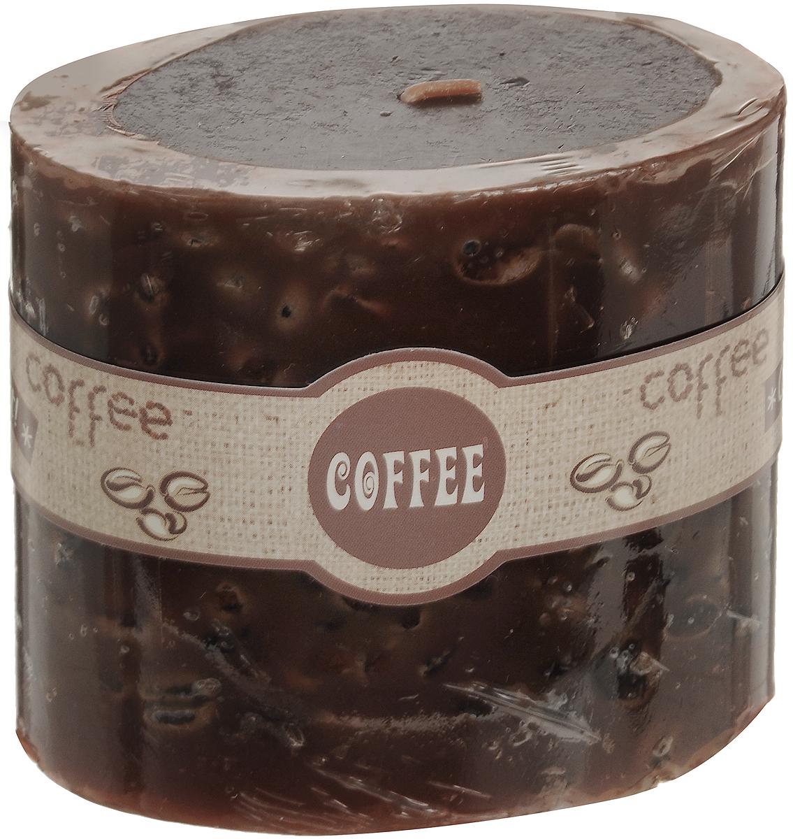 Свеча декоративная Lovemark Кофе, ароматизированная, цвет: коричневый, 9 х 5,5 х 8 см08GS1504-COДекоративная свеча Lovemark Кофе изготовлена из высококачественного парафина. Изделие отличается оригинальным дизайном и приятным ароматом кофе.Такая свеча может стать отличным подарком или дополнить интерьер вашей комнаты.