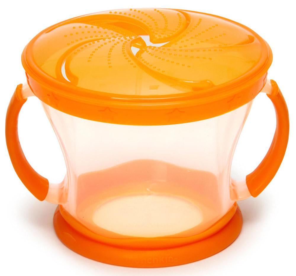 Munchkin Контейнер Поймай печенье цвет оранжевый прозрачный