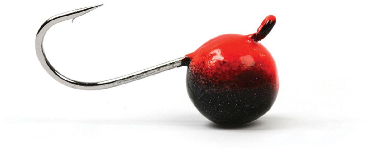Мормышка вольфрамовая Asseri Шар, с ушком, цвет: черный, красный, диаметр 5,2 мм, вес 1,35 г, 5 шт мормышка вольфрамовая asseri шар с ушком цвет медный диаметр 4 4 мм вес 0 81 г 5 шт
