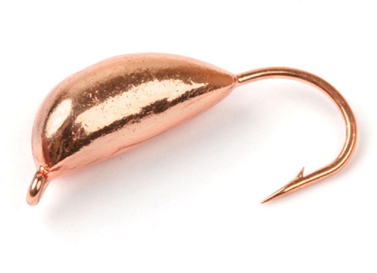 Мормышка вольфрамовая Asseri Супер, рижский банан, цвет: медный, 2,1 г, 5 штВ7- Cu+Мормышка Asseri Супер изготовлена из вольфрама и оснащена крючком. Она небольшого размера, имеет форму банана окрашена так, чтобы издалека привлечь рыбу. Главное достоинство вольфрамовой мормышки - большой вес при малом объеме. Эта особенность дает большие преимущества при ловле, так как позволяет быстро погрузить приманку на требуемую глубину и лучше чувствовать игру мормышки.Размер: 4,2 х 11 мм.