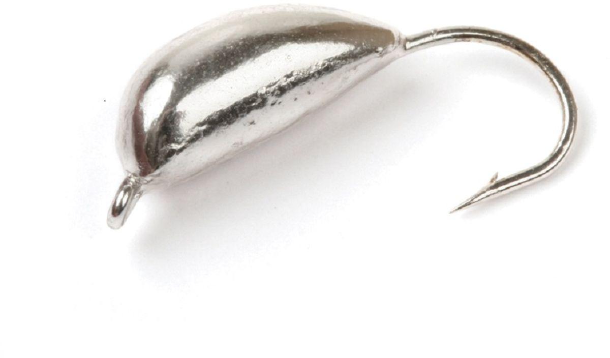 Мормышка вольфрамовая Asseri Супер, рижский банан, цвет: серебро, 3 г, 5 штВ9-Ag+Мормышка Asseri Супер изготовлена из вольфрама и оснащена крючком. Она небольшого размера, имеет форму банана окрашена так, чтобы издалека привлечь рыбу. Главное достоинство вольфрамовой мормышки - большой вес при малом объеме. Эта особенность дает большие преимущества при ловле, так как позволяет быстро погрузить приманку на требуемую глубину и лучше чувствовать игру мормышки.Размер: 5,2 х 13 мм.