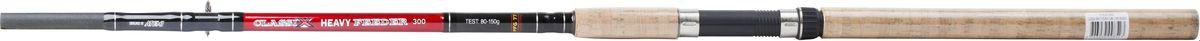 Удилище фидерное Atemi Classix Feeder Heavy, с пробковой ручкой, 3,3 м, 80-150 г